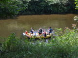 Bohemian Paradise - boating on the Jizera river